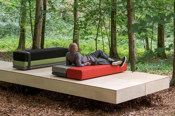Billede af Bavul bænk / seng hos BoShop - Bænke og senge i Aarhus og Aalborg.