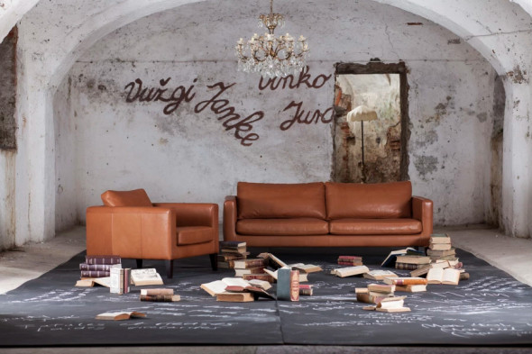 Billede af Elegance stofsofa - Sofa i stof hos BoShop.