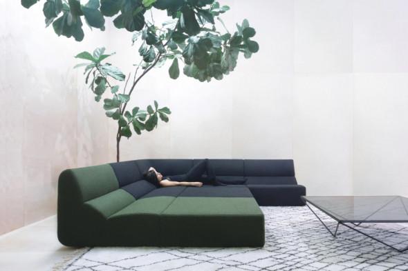 Billede af Layout stofsofa - Sofa i stof hos BoShop - Sofaer i Aarhus og Aalborg.