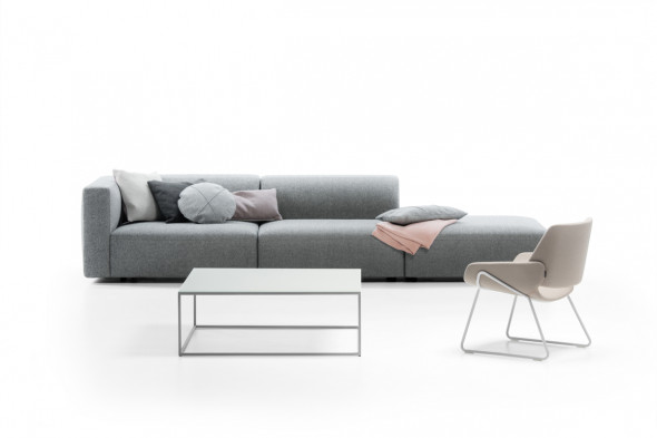 Billede af Match XL stofsofa - Sofa med chaiselong hos BoShop - Sofaer i Århus.