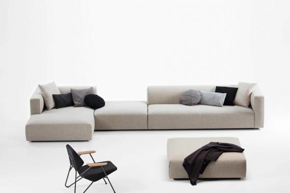 Billede af Match XL stofsofa - Sofa med chaiselong hos BoShop - Sofaer i Aarhus og Aalborg.