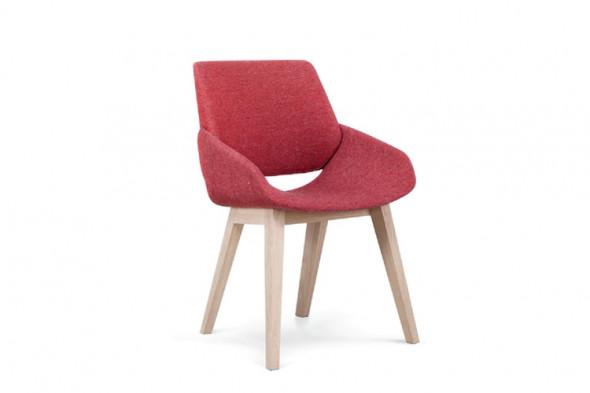 Billede af Monk wood spisebordsstol hos BoShop - Spisebordsstole i Århus.