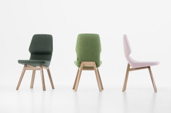 Billede af Oblique spisebordsstol hos BoShop - Spisebordsstole i Århus.