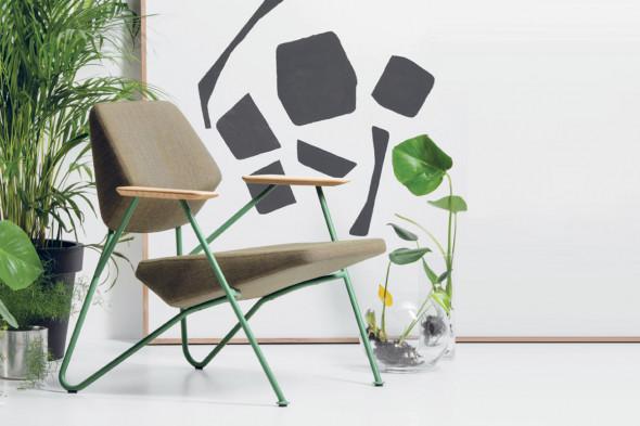 Billede af Polygon lænestol hos BoShop - Lænestole i Århus.