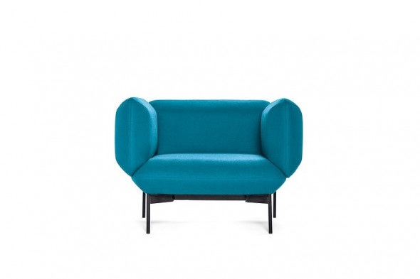 Billede af Segment stofsofa - Sofa i stof hos BoShop.