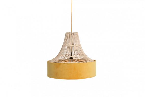 Billede af Suave circus loftslampe / pendel - Gul hos BoShop