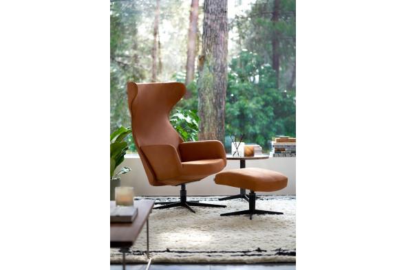 Billede af Isa lænestol - Lænestol i læder hos BoShop - Lænestole i Århus.