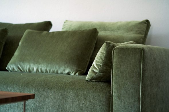 Billede af Liam stofsofa - Sofa i stof hos BoShop - Sofaer i Århus.