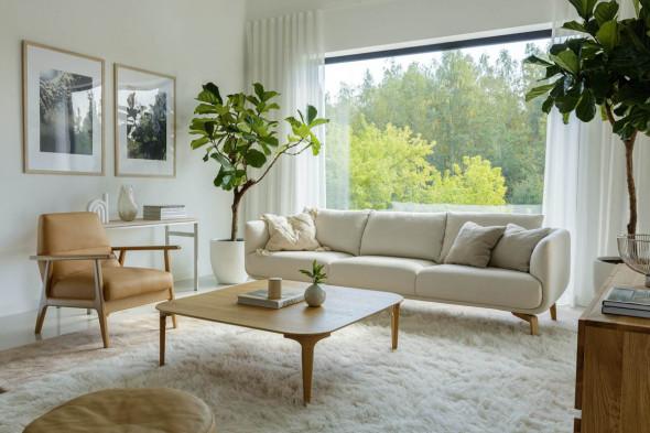 Billede af Moa stofsofa - Sofa i stof hos BoShop - Sofaer i Aarhus og Aalborg.