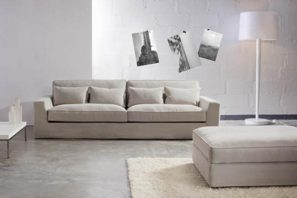 Billede af New York stofsofa - Sofa i stof hos BoShop - Sofaer i Århus.