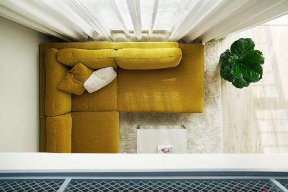 Billede af Sigge sofa - Sofa i stof hos BoShop - Sofaer i Aarhus og Aalborg.