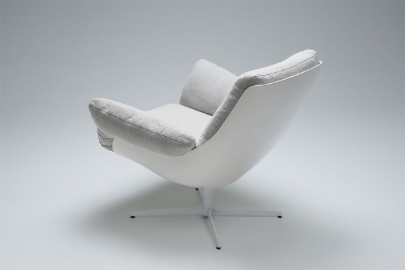 Billede af Softbird lænestol - Lænestol i stof hos BoShop.