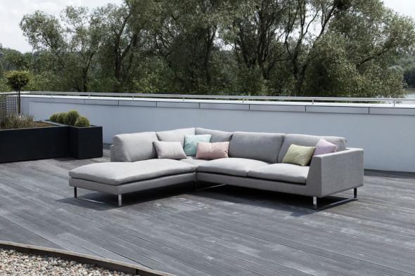Billede af Tokyo stofsofa - Sofa i stof hos BoShop - Sofaer i Århus.