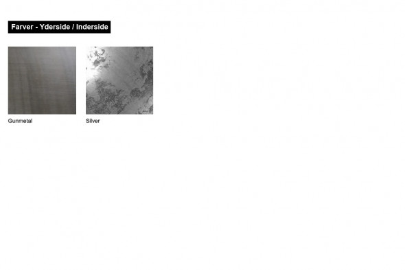 Billede af Larino Gunmetal SIlver Leaf gulvampe hos BoShop - Lamper i Århus.