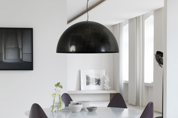 Billede af Larino Dappled Oil - lampeserie hos BoShop - Lamper i Århus.