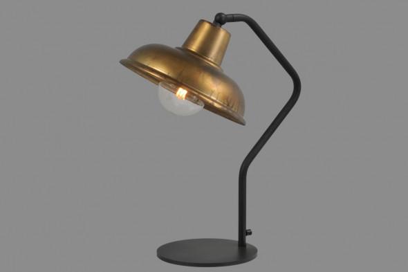 Billede af Panna Antique Brass - bordlampe hos BoShop - Lamper i Århus.