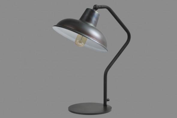 Billede af Panna Gunmetal White - bordlampe hos BoShop - Lamper i Århus.