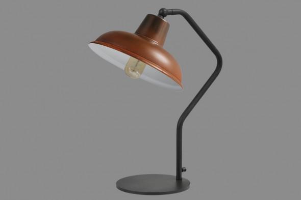 Billede af Panna Rust White - bordlampe hos BoShop - Lamper i Århus.