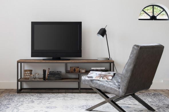 Tuareg tv-bord i genanvendt træ fra SMOKESTACK hos BoShop.