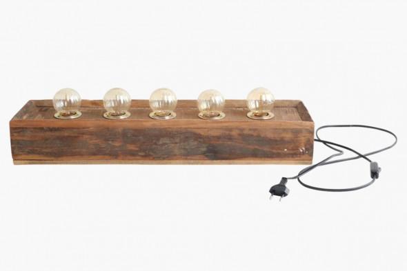 Billede af Fabriks væglampe - 5 pærer hos BoShop.