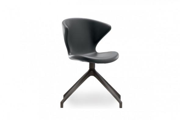 Billede af New Concept metal Soft touch spisebordsstol hos BoShop - Spisebordsstole i Aarhus og Aalborg.