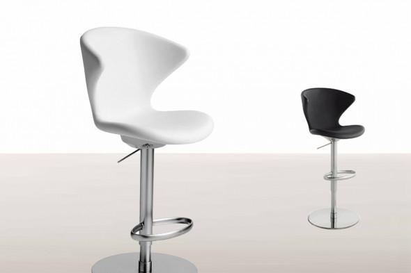 Billede af Concept metal Soft touch barstol hos BoShop - Barstole i Århus.