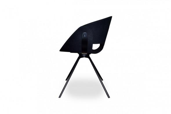 Billede af Flat metal spisebordsstol hos BoShop - Spisebordsstole i Århus.