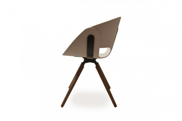 Billede af Flat wood spisebordsstol hos BoShop - Spisebordsstole i Århus.