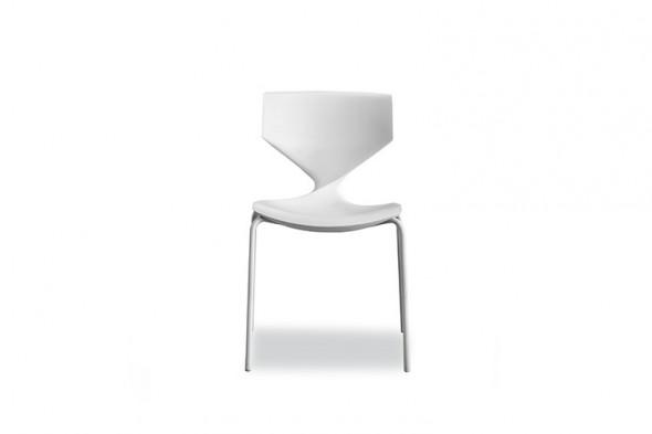 Billede af Quo metal Soft touch spisebordsstol hos BoShop - Spisebordsstole i Aarhus og Aalborg.