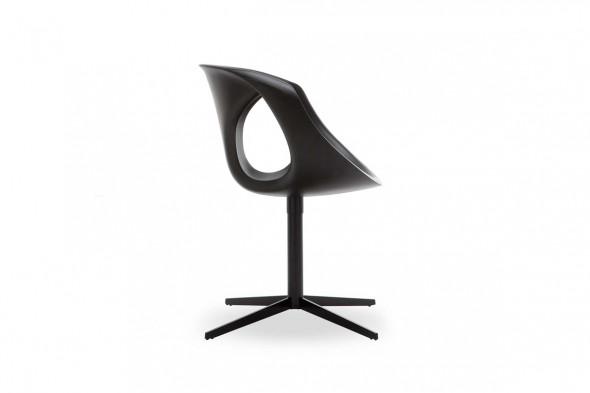 Billede af Up chair metal Medium Soft touch spisebordsstol hos BoShop.
