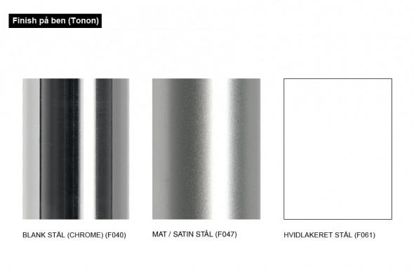 Billede af Step metal Soft touch spisebordsstol hos BoShop.