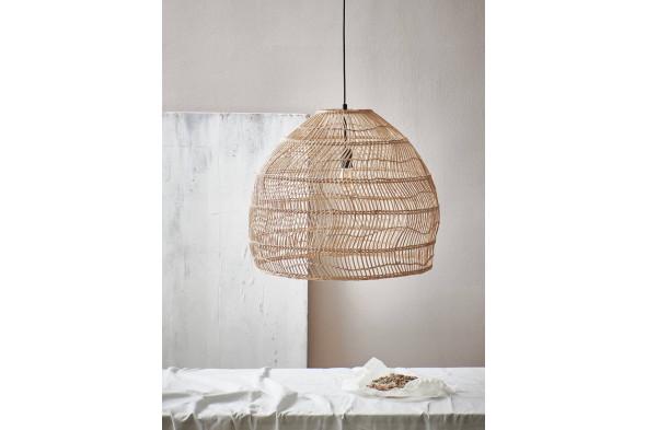 Billede af Wicker natural loftslampe / pendel hos BoShop - Lamper i Aarhus og Aalborg.