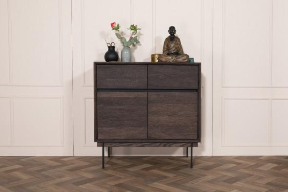 Billede af Elegance opbevaringsserie fra Wood by Kristensen hos BoShop - Opbevaringsmøbler i Århus.