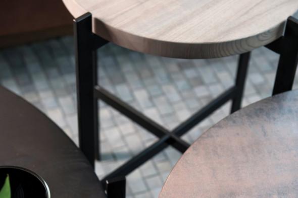 Billede af Urban Circle sofabord fra Wood by Kristensen hos BoShop - Sofaborde i Aarhus og Aalborg.