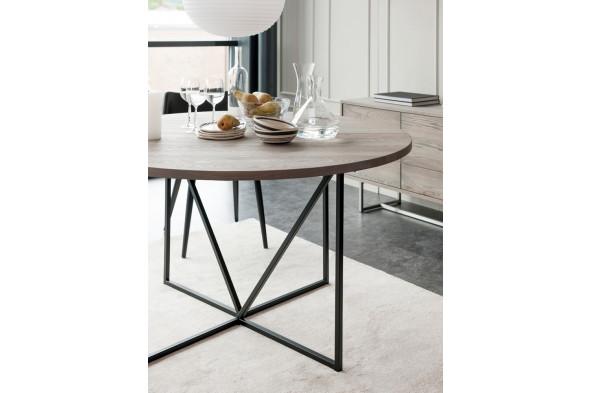 Billede af ZET spisebord rundt fra Wood by Kristensen hos BoShop - Spiseborde i Århus.
