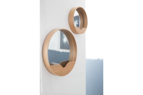 Billede af Round Wall spejl hos BoShop.