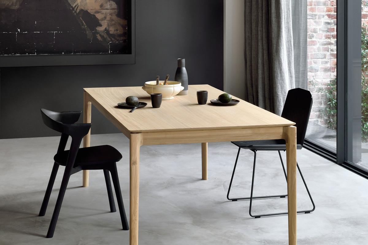 Hypermoderne Ethnicraft - Bok Eg spisebord med udtræk i træ hos BoShop DW-17