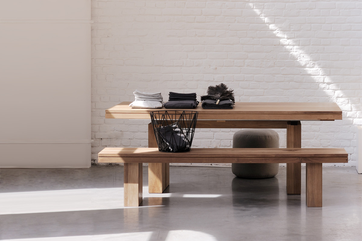 Rustikt spisebord til hjemmet - BoShop