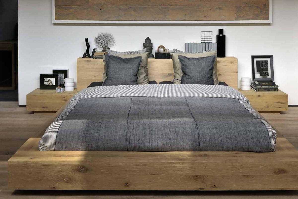 træ seng Ethnicraft   Madra Eg natbord i træ hos BoShop træ seng