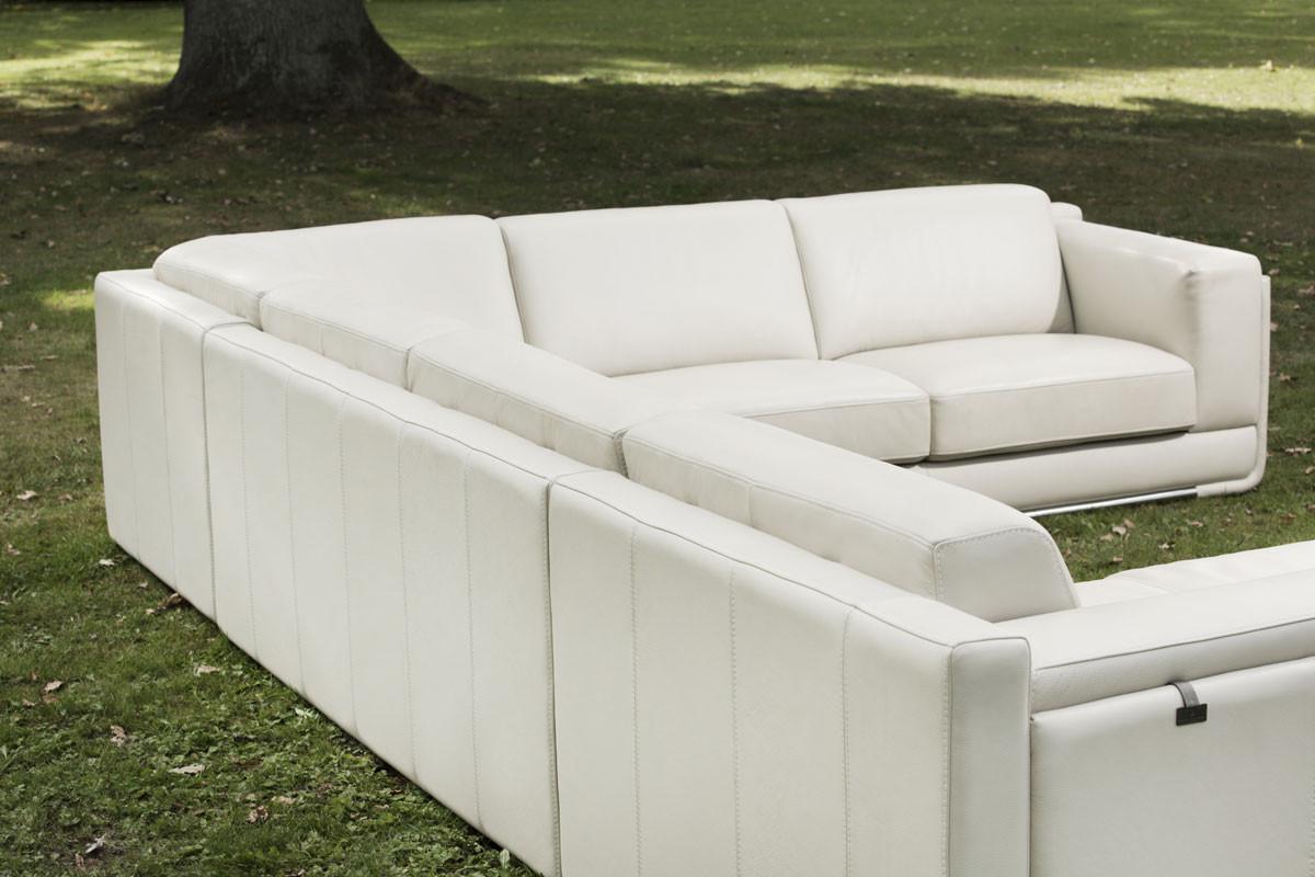 hvid lædersofa