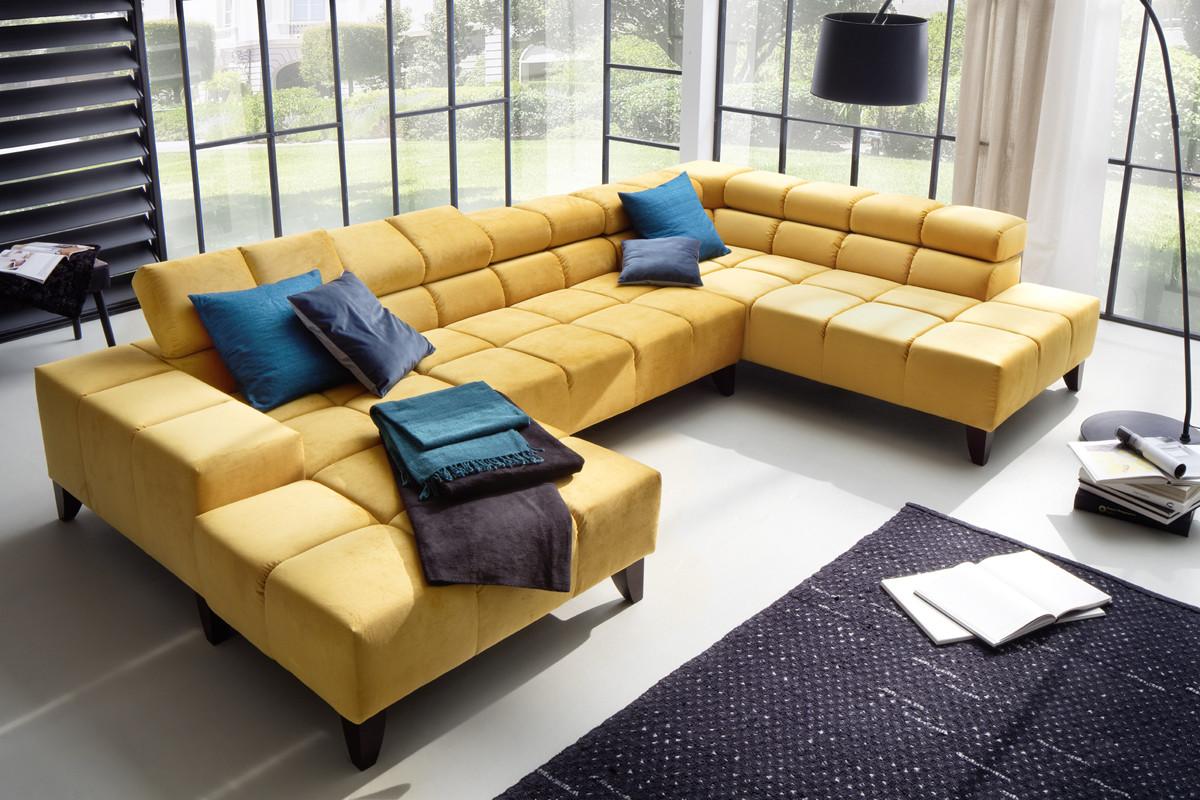 Indomo   wilson stofsofa   flyder sofa med chaiselong hos boshop