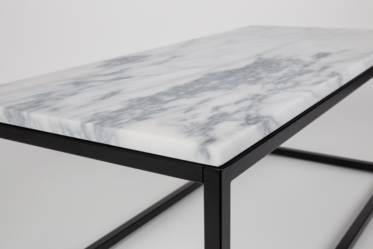 Zuiver Marble Power Sofabord Hos Boshop Marmor Sofaborde