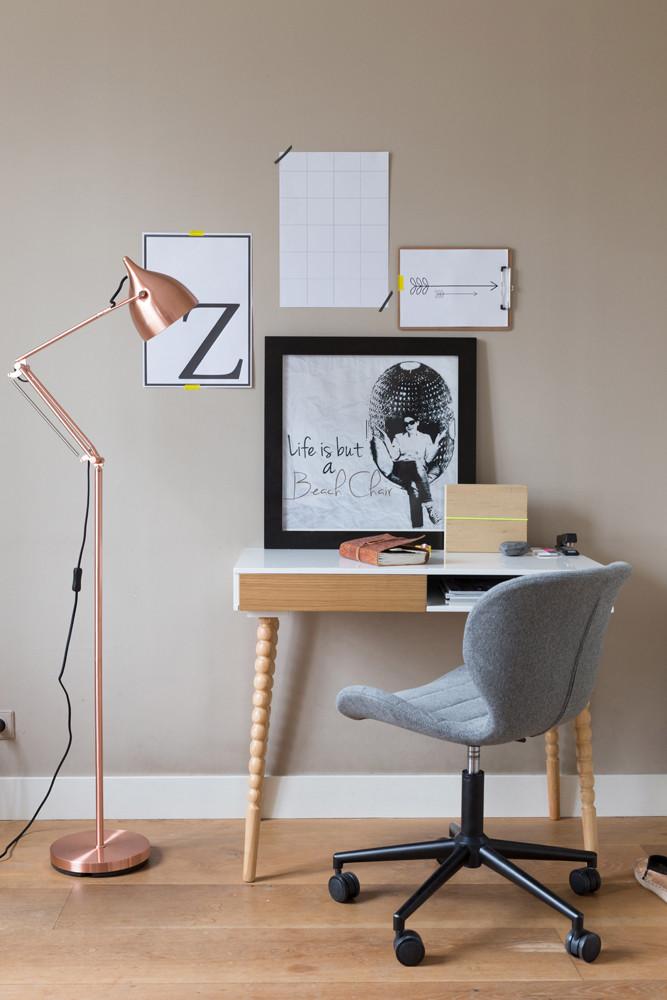 Billig kontorstol online på nettet med OMG kontorstolen fra Zuiver, som du kan købe her hos BoShop.