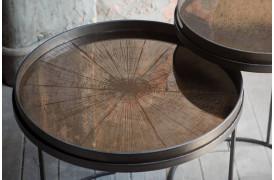 Bronze Slice spejlbakke