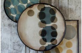 Slate Layered Dots glasbakke