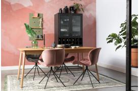 Her ses et billede af Glimps spisebord med udtræk i natur fra Zuiver.