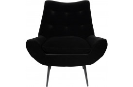 Glodis lounge stol - Nero