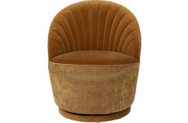 Madison lounge stol - whiskey
