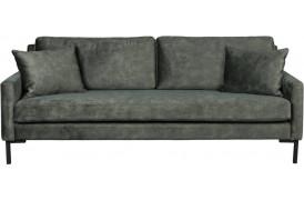 Houda velour sofa - Forest