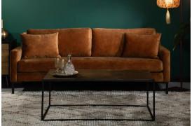 Houda sofaen er en velour sofa, der kan fås i tre forskellige farver.
